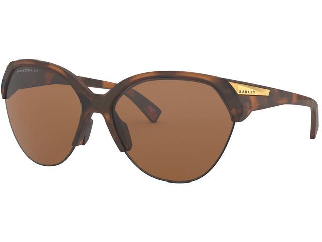 Oakley Trailing Point Gafas de Sol Mujer, marrón
